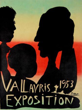 Литография Picasso - Exposition Vallauris 1953