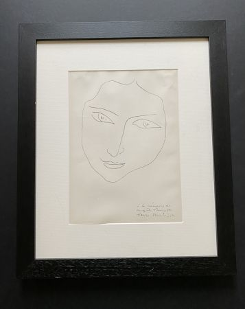 Литография Matisse - Facing Woman