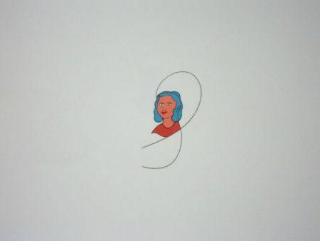 Литография Dominicis (De) - Famiglia