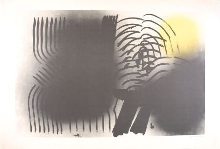 Литография Hartung - FARANDOLE : L 1970-2