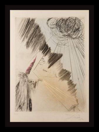 Гравюра Dali - Faust Femme au Clown