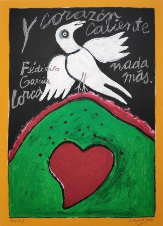 Сериграфия Corneille - Federico Garcia Lorca
