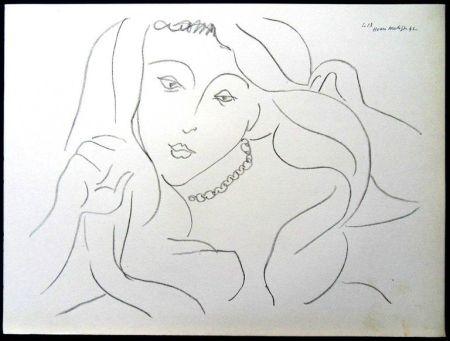 Литография Matisse - Femme