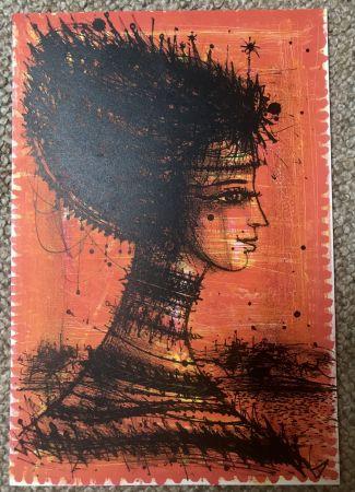 Литография Carzou - Femme