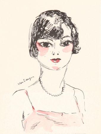 Литография Van Dongen - Femme- Salon D'Automne, 11929