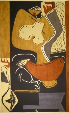 Литография Le Corbusier - Femme À La Main Levée