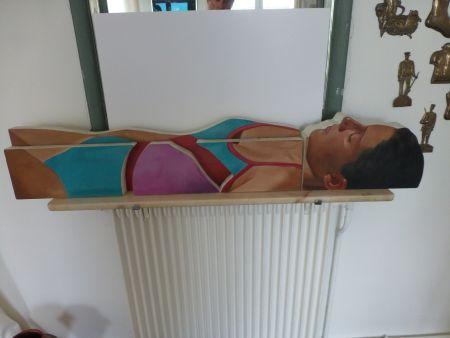Нет Никаких Технических Maddox - Femme allongée en maillot une pièce