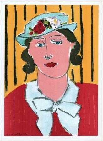 Литография Matisse - Femme au chapeau