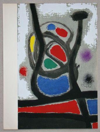 Трафарет Miró - Femme II