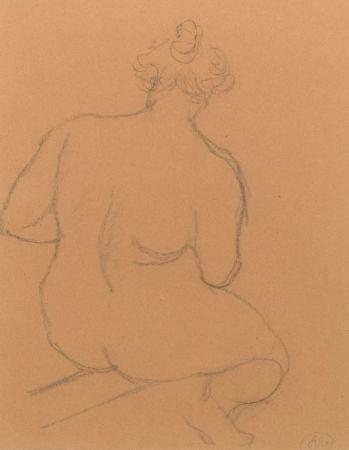 Нет Никаких Технических Maillol - Femme nue de dos, accroupie