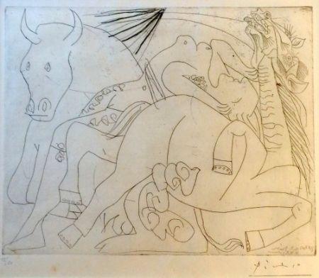 Гравюра Picasso - Femme Torero