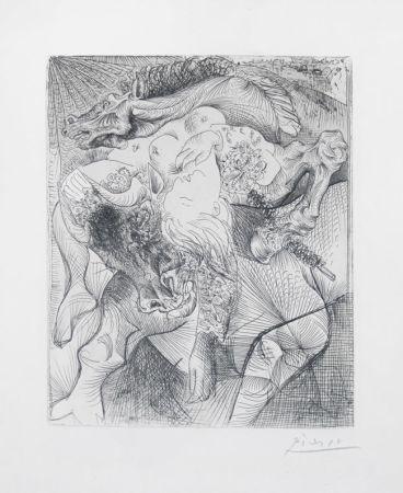 Гравюра Picasso - Femme torero II
