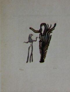 Офорт И Аквитанта Fenosa - Femmes arbres
