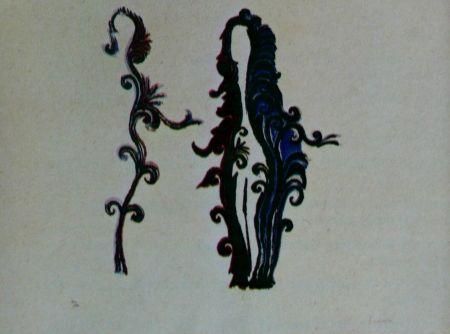 Литография Fenosa - Femmes fleurs