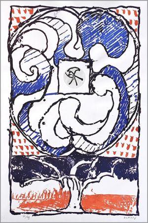 Литография Alechinsky - Fenêtre