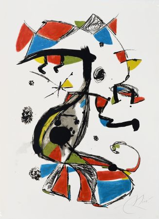 Литография Miró - Festa Major