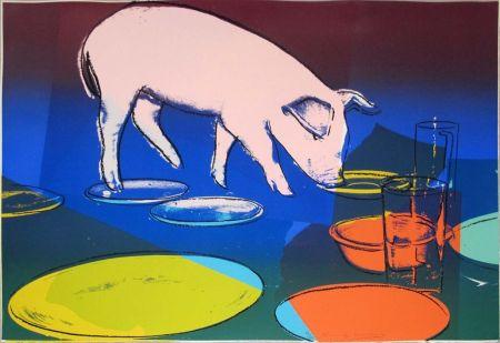 Сериграфия Warhol - FIESTA PIG FS II.184