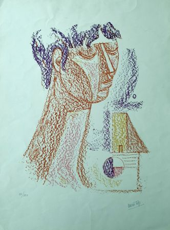 Литография Tozzi - Figura