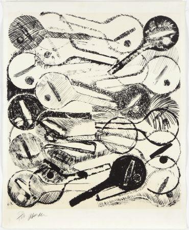 Литография Arman - Filtres À Air, 1969