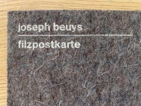 Сериграфия Beuys - Filzpostkarte