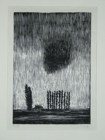 Гравюра На Дереве Marcks - Finstere Wolke (Dark Cloud)