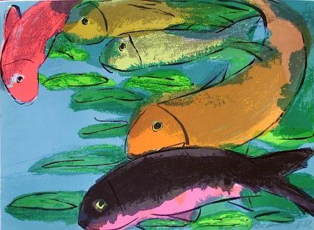 Литография Ting - Fisches