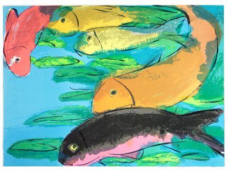 Литография Ting - Fish