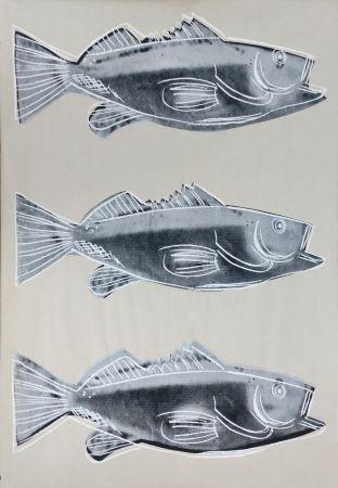Сериграфия Warhol - FISH FS IIIA.39