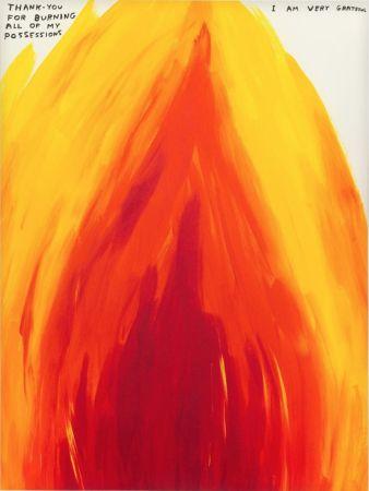 Сериграфия Shrigley - Flame