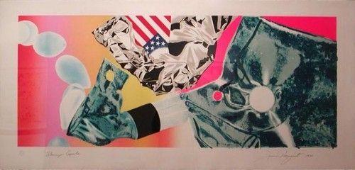 Сериграфия Rosenquist - Flamingo Capsule