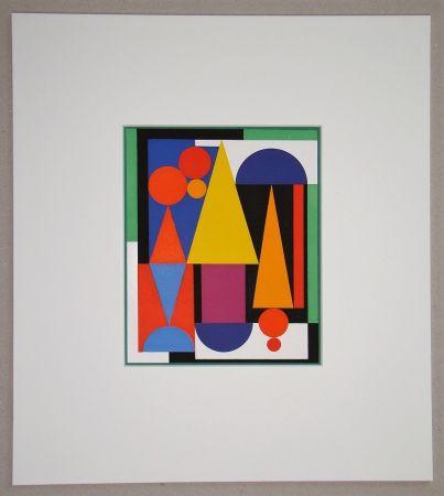Сериграфия Herbin - Fleur fruit - 1945