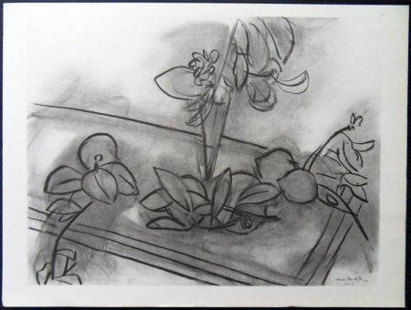 Литография Matisse - Fleurs