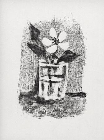 Литография Picasso - Fleurs Dans Un Verre #6