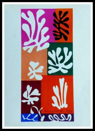 Литография Matisse (After) - FLEURS DE NEIGNE