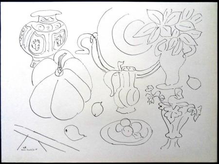 Литография Matisse - Fleurs et Vases