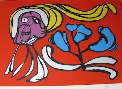 Многоэкземплярное Произведение Appel - Floating flower passion