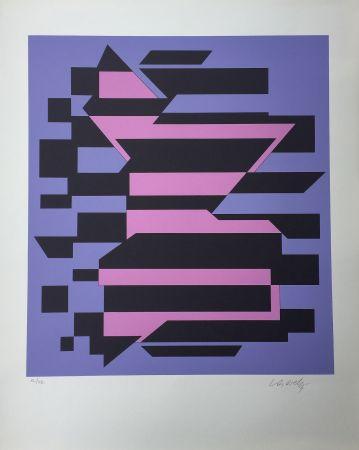 Сериграфия Vasarely - Flores