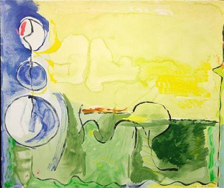 Сериграфия Frankenthaler - Flotilla