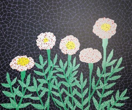 Литография Kusama - Flower