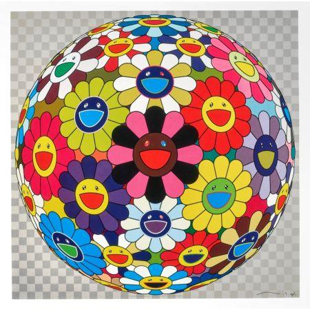 Литография Murakami - Flower Ball (Kindergarten Days)