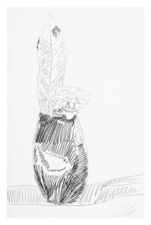 Сериграфия Warhol - Flower (Black & White)
