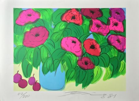 Литография Ting - Flowers
