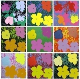 Сериграфия Warhol - Flowers - 10 silkscreens