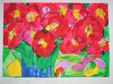 Литография Ting - Flowers 2