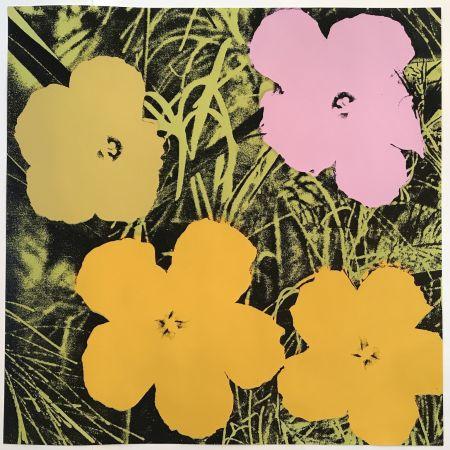 Многоэкземплярное Произведение Warhol - Flowers #67