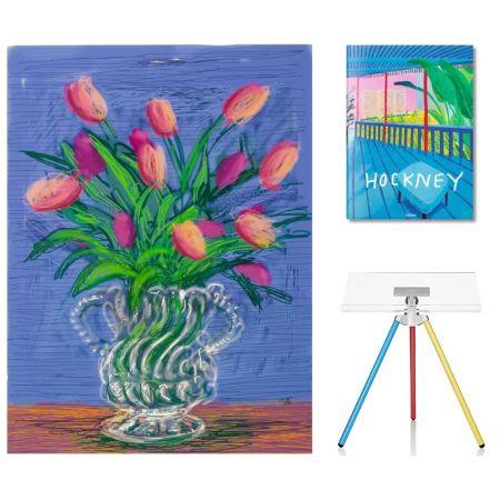 Нет Никаких Технических Hockney - Flowers, B with SUMO book