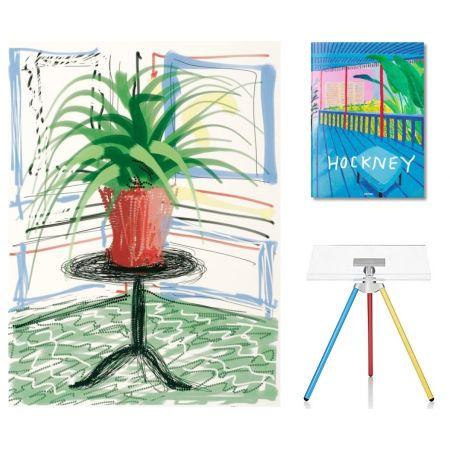 Многоэкземплярное Произведение Hockney - Flowers, C with SUMO book