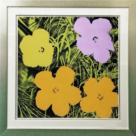 Сериграфия Warhol - FLOWERS FS II.67