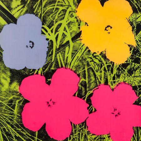 Сериграфия Warhol - Flowers (FS II.73)