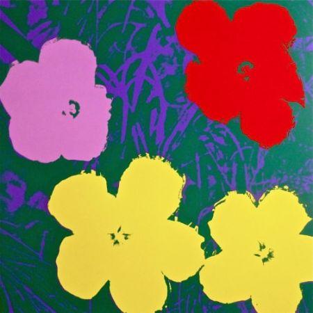 Сериграфия Warhol (After) - Flowers IV